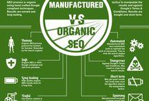 SEM & SEO infographics