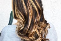 highlights brown