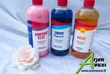 Swipe / Yrityksen kautta saat puhdistus- ja pyykkisarjan tuotteita