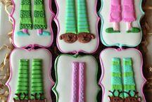Cookies - Festa do Pijama - Sleepover / Festa do Pijama  Sleepover  Cookies  Ideas