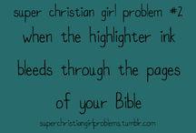 Christian girl stuff