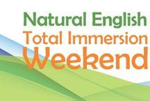 The Natural English Total Weekend Immersion / A highly effective, intensive language learning experience.
