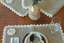 table clothes / crochet