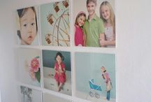 woonkamer photo wall