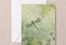Dragon fly cards / Simple cards using dragonfly stamp