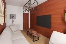 Guest Room / Lounge room - 3D design