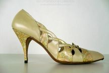 Vintage 1960s Gainsborough Pumps, Almond and Paisley with Cutwork Detail, Etsy Listing / Vintage 1960s Gainsborough Shoes, Leather Pointed Toe Pumps, Almond with Copper Pink and Blue Paisley Print, Cutwork Detail, US Size 8N, Etsy Listing https://www.etsy.com/listing/260788180
