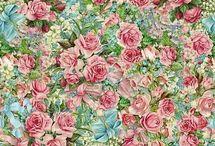 Принт Цветочный