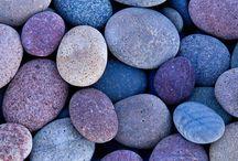 Beach, stones and sand