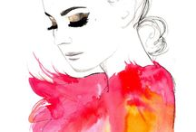 water colour drawings