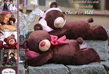 Plüss Macik // Teddy Bears