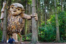Kunst & Natur - Nachhaltig beeindruckende Kunst / Kunst aus recyceltem Müll oder mit nachhaltigen Materialien aus der Natur – diese Künstler setzen mit ihren Kunstwerken ein klares Zeichen gegen den Klimawandel.