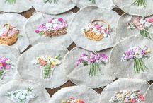 Polštářky s bylinkami