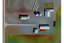 """Sat. abstractions by Squizzato / Paintings from my """"Abstractions Satellitales"""" project, more info http://sat.squizzato.com/"""