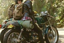 motorcycle gril n rider