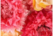 papierblumen erstellen