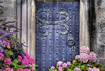 Beautiful Old Doors and Locks / Decor, Old Doors and Locks