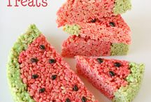desserts - rice crispy bars