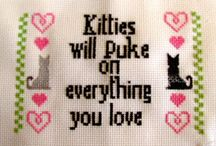 Cross stitch stuff