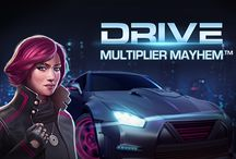 Drive Multiplayer Mahem / NetEnt's Drive Multiplayer Mahem