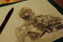 >Drawings<