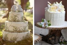 Wedding Cake, Woodland