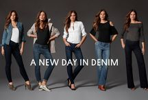 The One Fit / Introducing Universal Stretch premium denim.  Now every pair of jeans in our collection fits like it was made for you. #LTDDenim