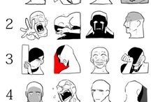 Drawing - expression references/ideas