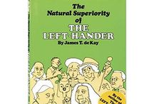 lefties / proud to be a southpaw / by Rivka da Cat