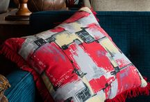 Retro Bespoke Cushions / Original vintage fabrics made into glorious bespoke cushions