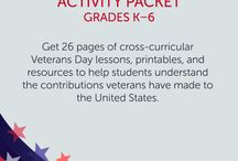 Veterans Day / Get classroom resources for Veterans Day!