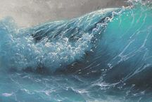 ocean and seas / by Borah Pavick