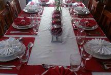 Оформление стола / Рождество