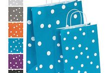 Spotty gift bags!