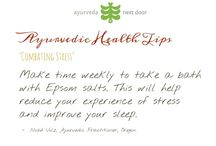 Ayurvedic Health Tips / Health tips from our contributing writers at AyurvedaNextDoor.com
