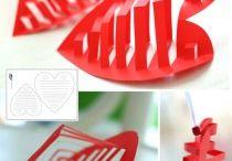 Srdce / srdíčka rúzných tvarů a materiálú