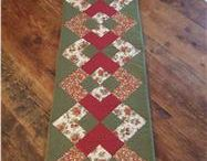 Table runner patchwork pattern