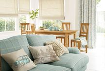 Free Spirit Collection / Enjoy a relaxing morning with fabrics depicting the spirit of Britain with peaceful floral and striped patterns in pale shades of blue and duck egg. #lauraashleyhome / by Laura Ashley USA