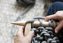 knitting !!!! / by Patricia Warrener