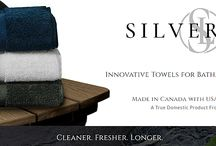 Silverloc / The Silverloc collection of innovative towels harnessing the same proven silver technology as The Lux Puff to combat odor and bacterial growth.