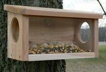 For the Birds / bird feeders, bird houses