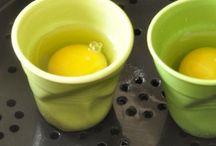 œufs pochés vapeur