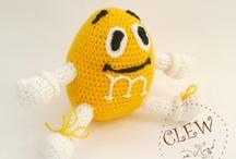 crochet cartoons/animals