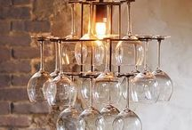 Wine glasses DIY