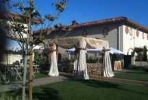 Ceremony Canopies, Chuppah's & Mondaps Custom Fabric Draping / Enhanced Drapery can custom fabricate ceremony canopies, Chuppahs & Mondaps for your wedding.