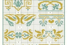 cross stitch double colour 2