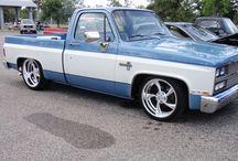 Chevy PU Farbschemata