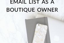 Email Marketing Tips / Email marketing is one of the most important ways to build your business and reach an audience that loves everything that you do. Here are some email marketing tips to help you out.