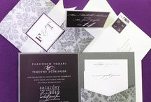 Winter White, Black and Silver / Stationery Inspiration