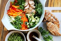 Salads & Salad Dressing Ideas / A collection of awesome salad & Salad dressing recipes.